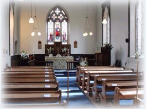 Church of St Lawrence interior