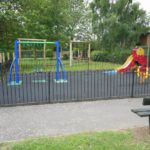 Play area/Trim track