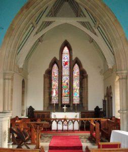 Stramshall Church Window